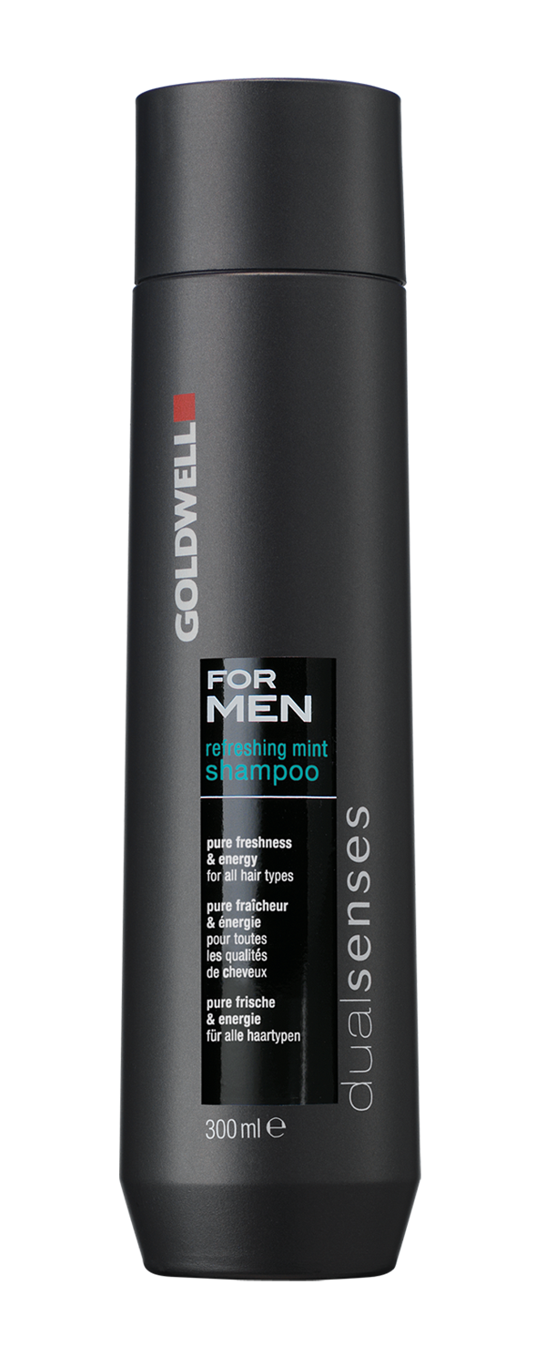 Dual Senses For Men Refreshing Mint Shampoo 300ml