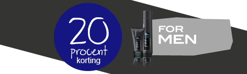 20 procent korting op Goldwell For Men